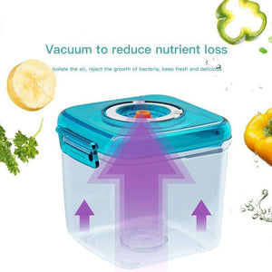 Portable Student Food Storage Box With Manual Vacuum