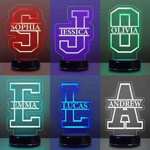 Personalized Children's Lamp with Name
