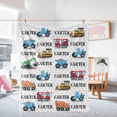 Custom Name Fleece Blanket 07