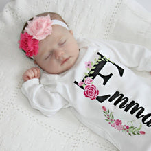 Load image into Gallery viewer, Newborn Girl Take Home Outfit-Emma