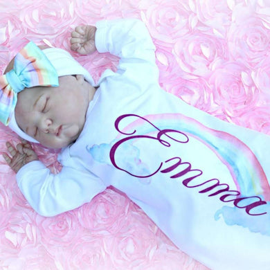 Personalized Baby Clothes V-08