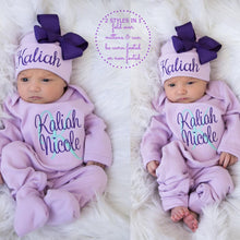 Load image into Gallery viewer, Personalized Baby Girl Clothes II-04