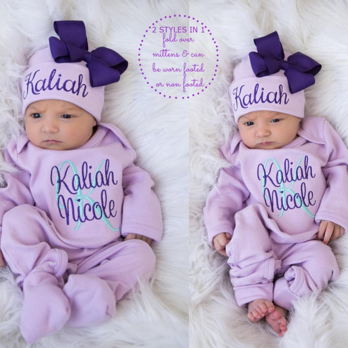 Personalized Baby Girl Clothes II-04