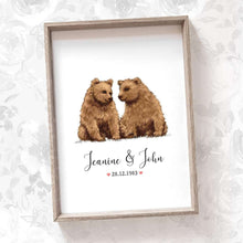 Load image into Gallery viewer, Wedding Names Custom Canvas 23