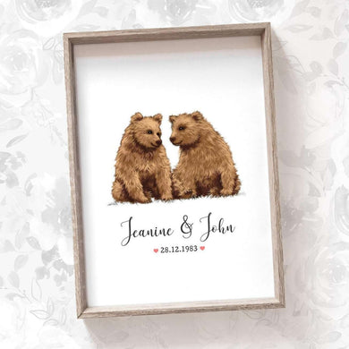 Wedding Names Custom Canvas 23