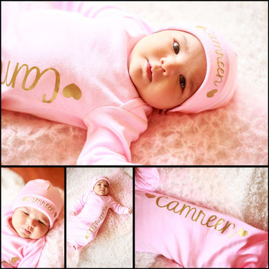 Personalized Baby Clothes V-16
