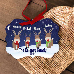 Personalized 2020 Family Christmas Ornament II08