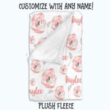 Load image into Gallery viewer, Baby Swaddle Fleece Blanket-Pink
