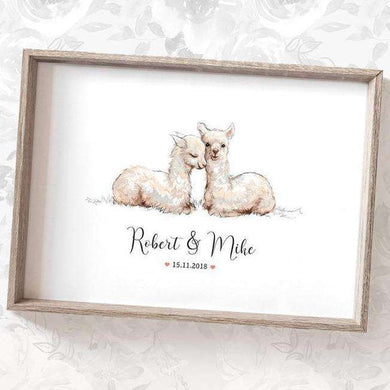 Wedding Names Custom Canvas 22