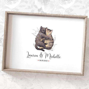 Wedding Names Custom Canvas 15