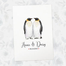 Load image into Gallery viewer, Wedding Names Custom Canvas 09