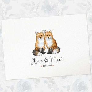 Wedding Names Custom Canvas 17