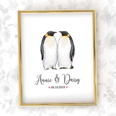 Wedding Names Custom Canvas 09