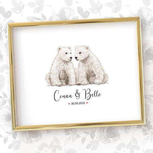 Wedding Names Custom Canvas 16