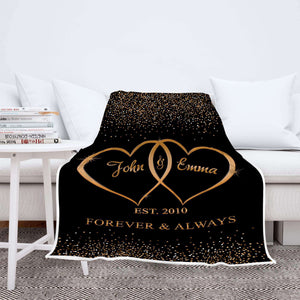 Personalized Blanket For The Closest One To Your Heart