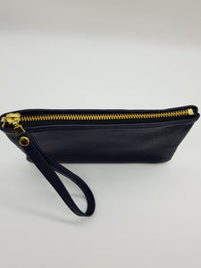 ELLE Blue Clutch Small
