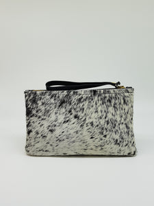 ELLE clutch black & white small