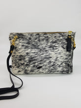TETE cross body bag black and white small