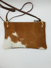 LE JOUR Cross body Bag Tan & white large
