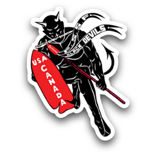 FSSF Black Devil Sticker