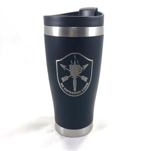 DEL Freedom Doesn't Brew Iteself - 16oz Tumbler