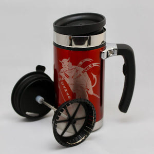 Black Devil 20oz Travel French Press