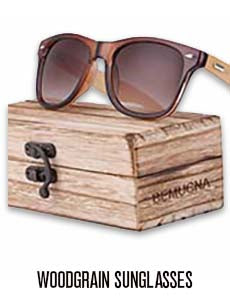 Women's Woodgrain Sunglasses