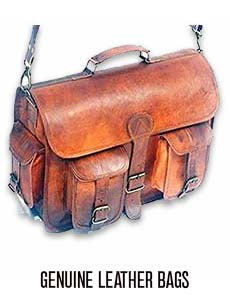 Men's Genuine Leather Messanger Bag