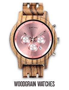 Women's Woodgrain Watches