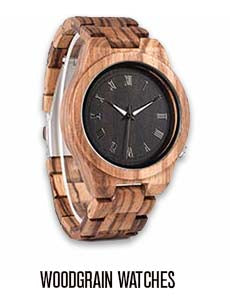 Men's Woodgrain Watches