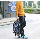 Backpack USB Charging & Water Resistant <br> Oxford Backpack  - strapsandbrass.com