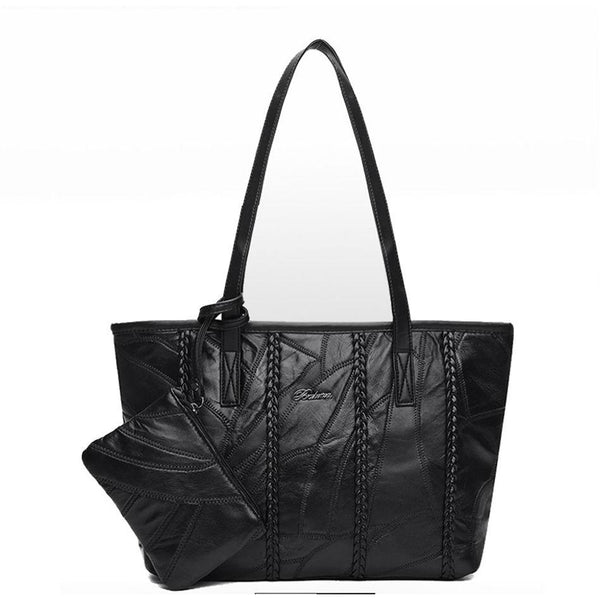 <bold>Tote / Crossbody Bag <br>Genuine-Leather Handbag  - strapsandbrass.com