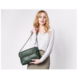 <bold>Crossbody / Shoulder Bag <br>Vegan-Leather Handbag  - strapsandbrass.com