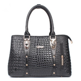 <bold>Satchel / Crossbody Bag <br>Vegan-Leather Handbag Black - strapsandbrass.com
