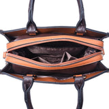 <bold>Top-Handle / Crossbody Bag <br>Vegan-Leather Handbag  - strapsandbrass.com