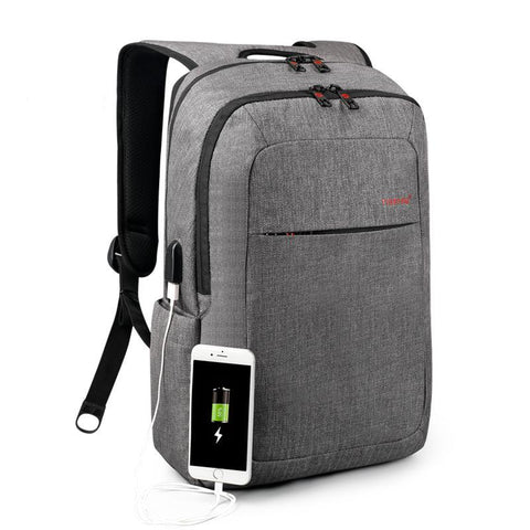 Copy of Backpack USB Charging & Anti-Theft <br> Oxford Backpack  - strapsandbrass.com