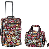 famous luggage riot 2 piece carry on luggage set 29 colors Luggage OWL - strapsandbrass.com