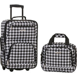 famous luggage riot 2 piece carry on luggage set 29 colors Luggage Kensington - strapsandbrass.com