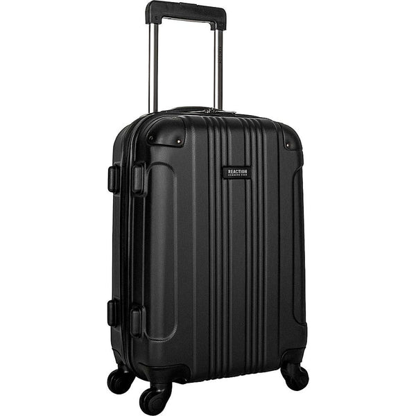 "famous reaction out of bounds 20"" spinner hard side carry-on Luggage Black - eBags Exclusive - strapsandbrass.com"