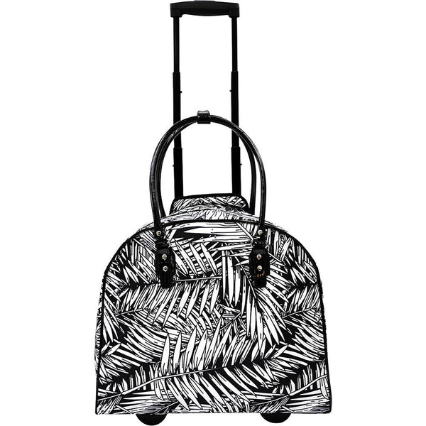 famous palm carry-on trolley 2 colors soft side carry-on Luggage Palm Black - strapsandbrass.com