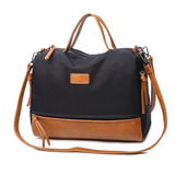 <bold>Tote  / Crossbody Bag  <br>Vegan-Leather Handbag  - strapsandbrass.com