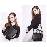 <bold>Tote & Crossbody Bag Set <br>Vegan-Leather Handbag  - strapsandbrass.com