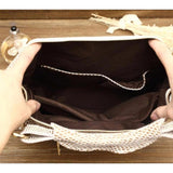 <bold>Hobo / Tote Bag <br>Genuine-Leather Handbag  - strapsandbrass.com