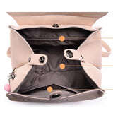 <bold>Youth Backpack <br>Vegan-Leather Fashion Backpack  - strapsandbrass.com