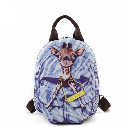 <bold>Youth Backpack <br>Oxford Fashion Backpack deer backpack - strapsandbrass.com