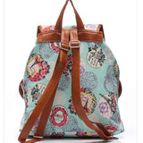 <bold>Fashion Backpack <br>Canvas Fashion Backpack  - strapsandbrass.com