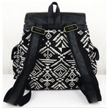 <bold>Casual Day Backpack  <br>Canvas Fashion Backpack  - strapsandbrass.com