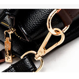 <bold>Top-Handle  / Crossbody Bag <br>Genuine-Leather Handbag  - strapsandbrass.com