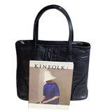 <bold>Tote / Shoulder Bag <br>Genuine-Leather Handbag  - strapsandbrass.com