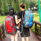 Hiking / Climbing Backpack <br> Nylon Backpack  - strapsandbrass.com